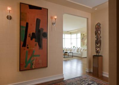 entry twds living room